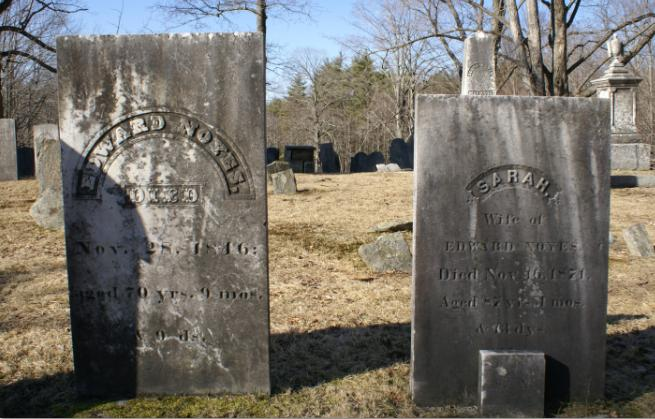 Edward Noyes and Sara Noyes (MERRICK)